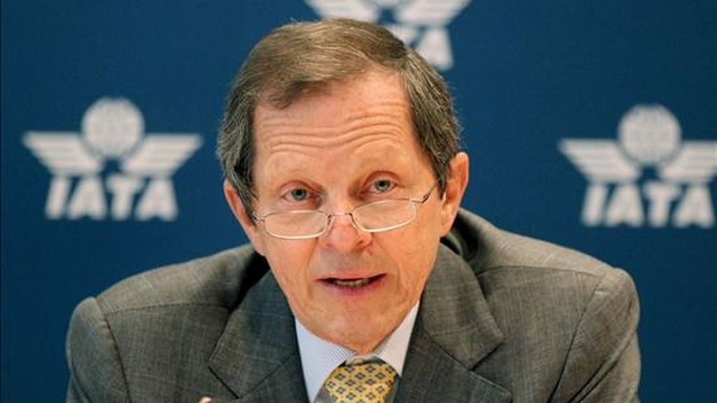 El director general de la IATA, Giovanni Bisignani. EFE/Archivo