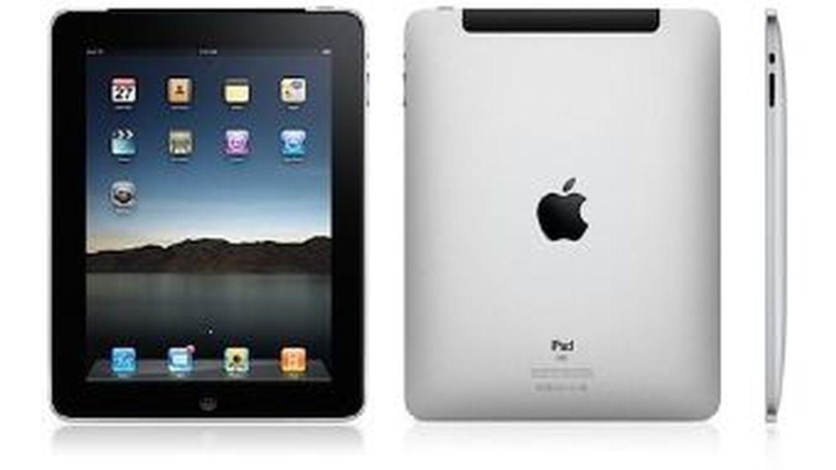 El iPad 2 tendrá dos cámaras y pesará menos. También mejorará la resolución de su pantalla. Foto del tablet de Apple actualmente en el mercado.