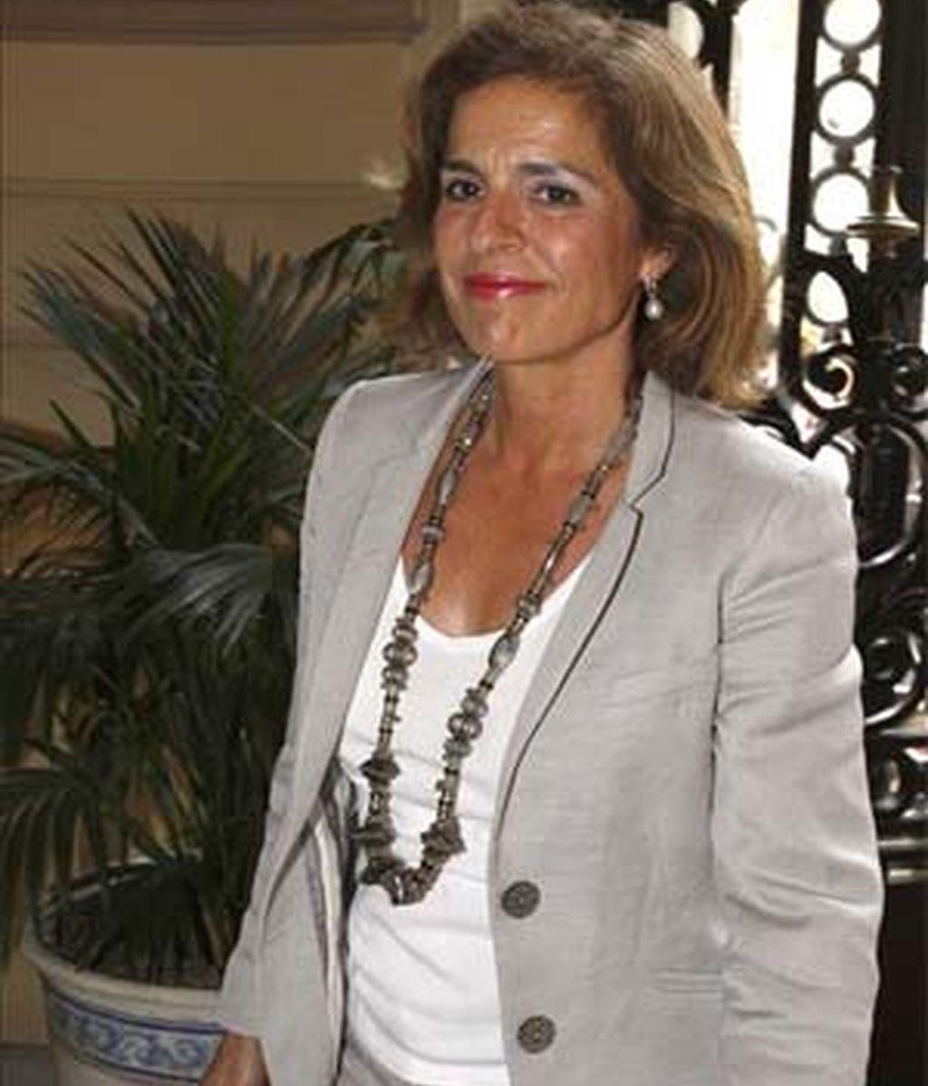 Ana Botella, en una foto de archivo