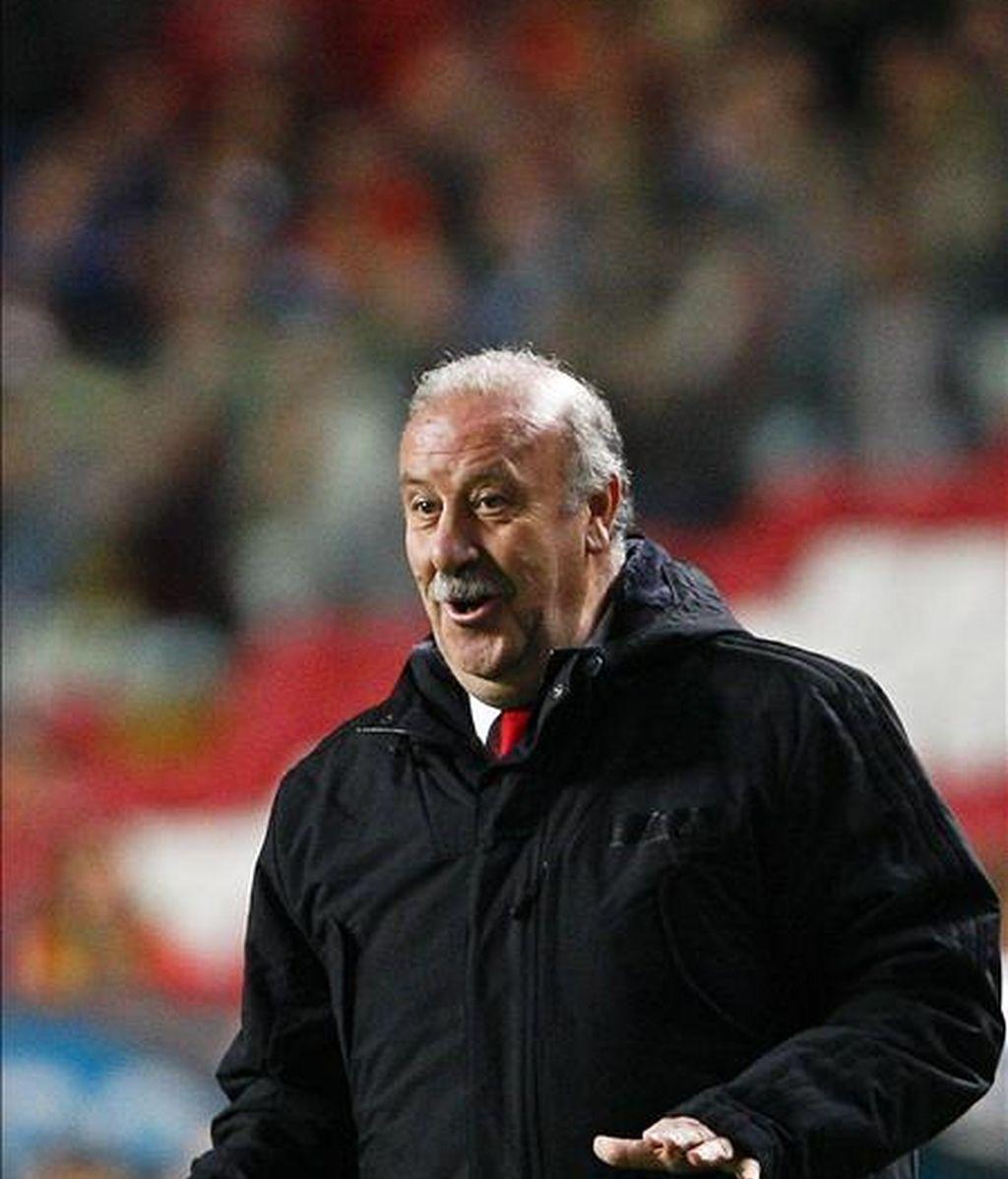El entrenador de la selección española, Vicente del Bosque. EFE/Archivo