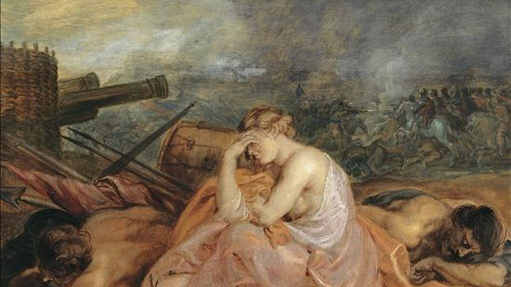 """""""Alegoria de la guerra"""", de Peter Paul Rubens, una de las obras que se pueden ver en la muestra """"Eros y Thanatos, pulsión, pinturas e interpretaciones"""", una exposición abierta en Viena en la que el arte sirve de soporte físico para mostrar el pensamiento de Sigmund Freud, padre del psicoanálisis, y de cuya muerte se cumplen 70 años el próximo septiembre.  EFE"""