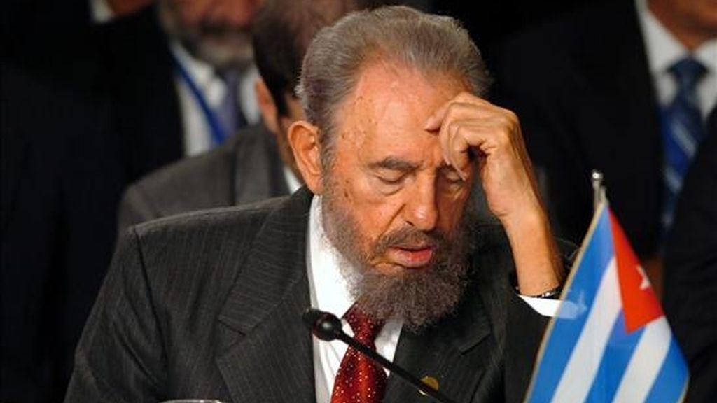 """El ex mandatario de 82 años, aún primer secretario del gobernante Partido Comunista, ha dedicado en las """"Reflexiones""""  varios comentarios a Obama. EFE/Archivo"""