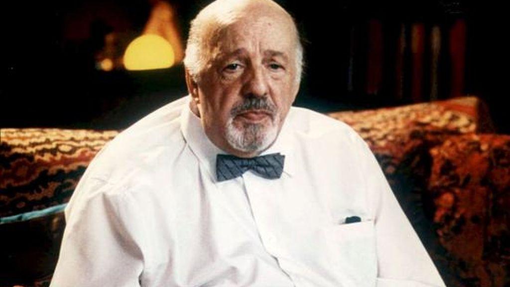 Fotografía de archivo datada el 3 de febrero del 2003 del actor Fernando Delgado, un veterano del teatro y habitual en los populares Estudio 1 de TVE, espacio que dirigió durante muchos años, que ha fallecido hoy en Madrid a la edad de 79 años como consecuencia de una larga enfermedad pulmonar. EFE