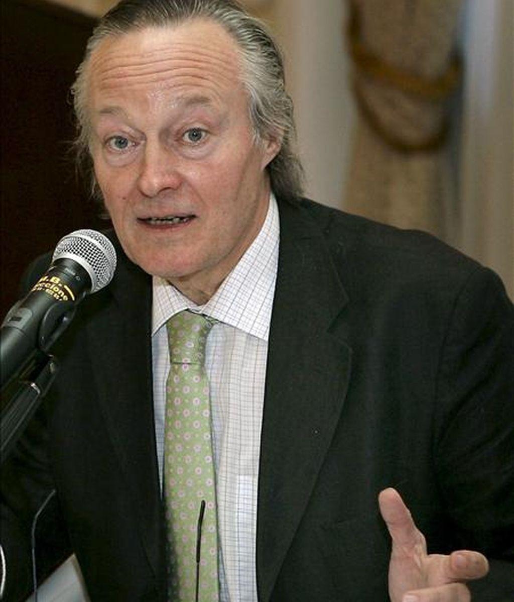 El presidente de la compañía aérea Vueling, Josep Piqué. EFE/Archivo