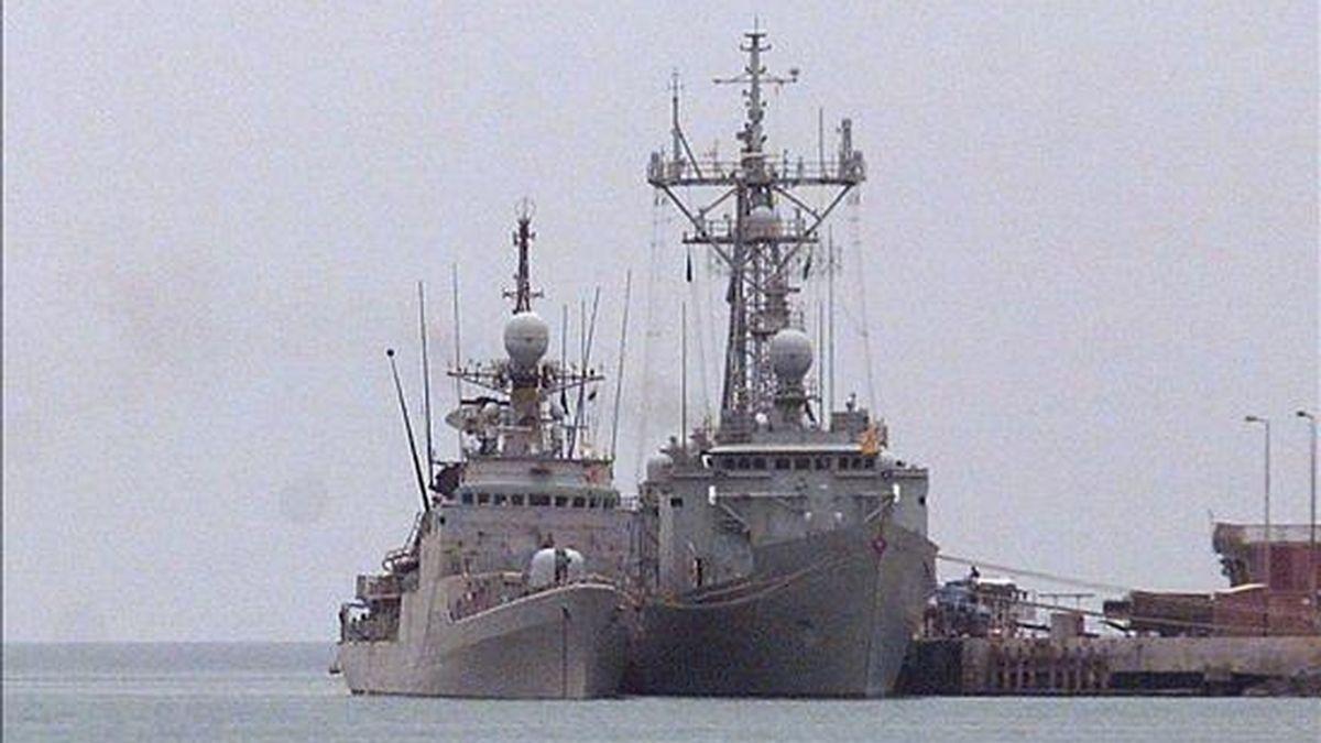 """El patrullero """"Infanta Cristina"""" ha concluido su última misión en la operación """"Atalanta"""" contra la piratería en aguas del Índico y ha emprendido su regreso a España, donde está previsto que llegue el próximo 18 de diciembre, han informado hoy a Efe fuentes de la Armada. EFE/Archivo"""