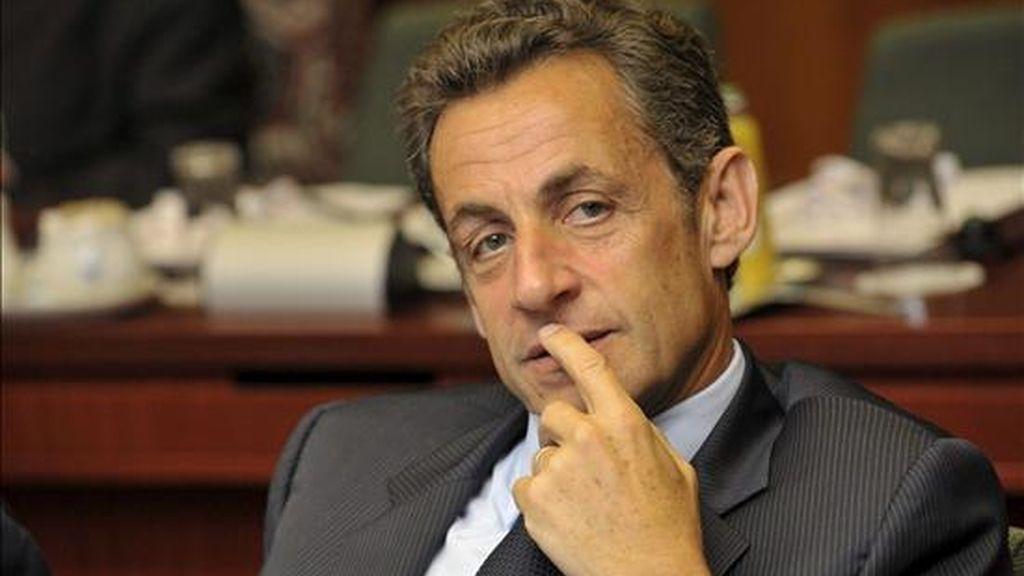 El presidente francés, Nicolas Sarkozy. EFE/Archivo