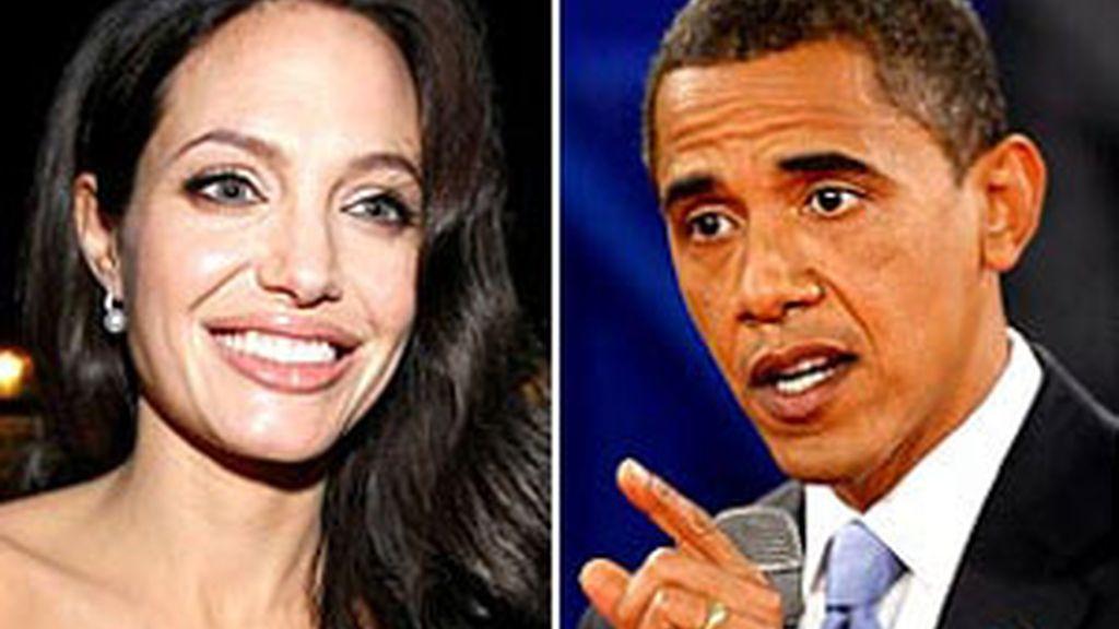 Angelina Jolie estaría pensando cambiar la actuación por la política. ¿Será la próxima rival de Obama?