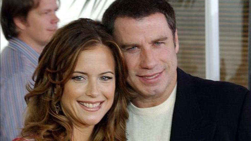 """Un comunicado de la portavoz de la familia, Samantha Mast, indicó que los Travolta y su hija Ella Bleu """"están fascinados y muy contentos con la llegada del nuevo miembro de la familia"""". EFE/Archivo"""