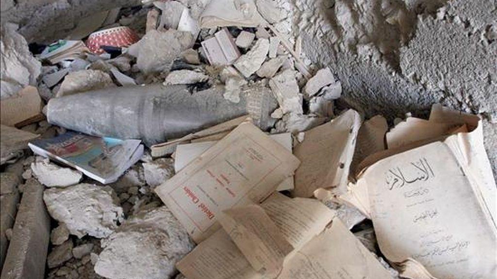Los primeros peritajes de la policía señalaron que la bomba estaba compuesto por un recipiente metálico relleno de pólvora negra. EFE/Archivo