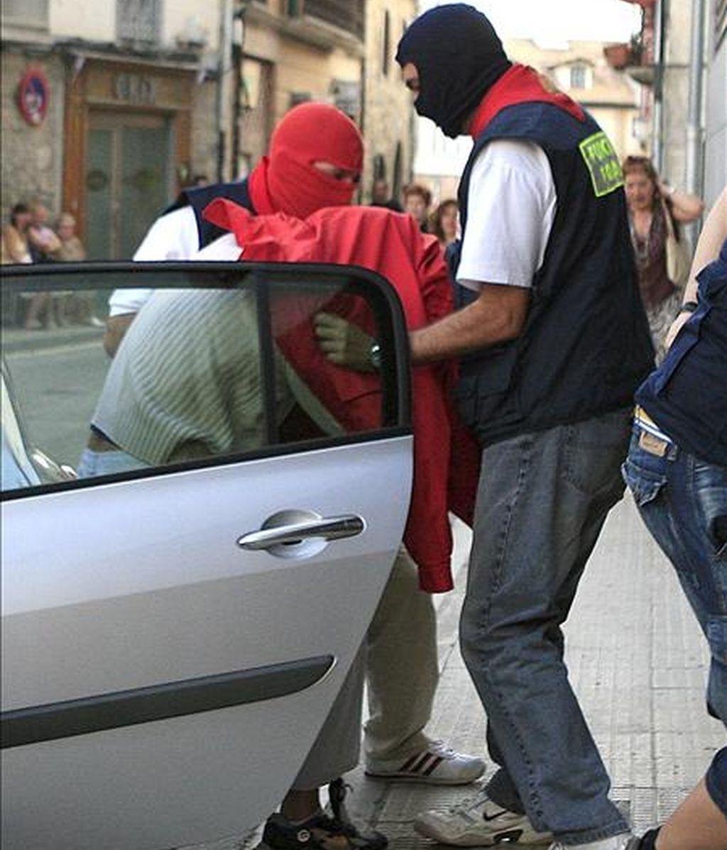 El pamplonés de 27 años detenido como presunto autor de la muerte de Nagore Laffage Casasola el pasado julio. EFE/Archivo