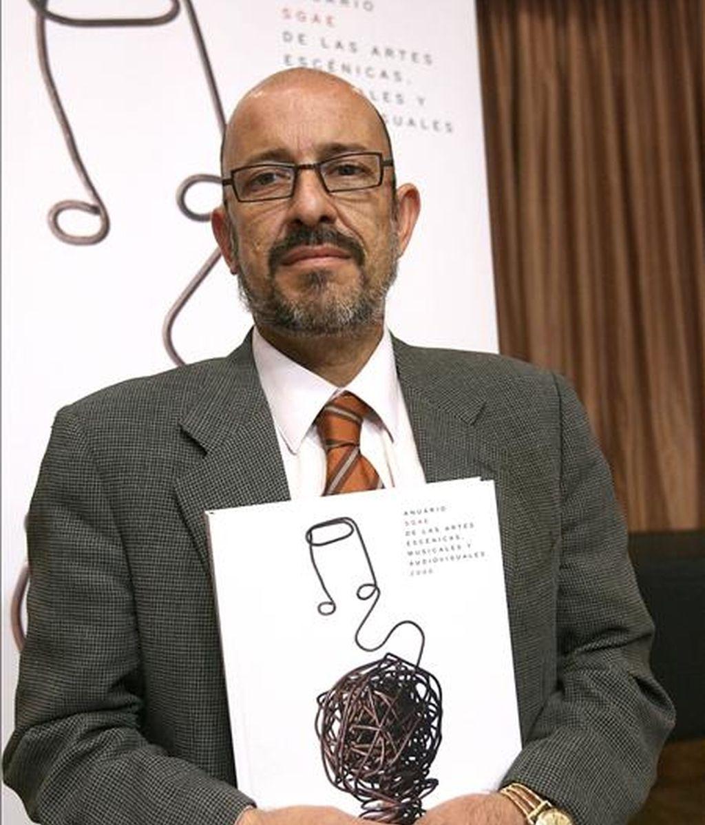 El secretario General de la Fundación Autor, Francisco Galindo. EFE/Archivo