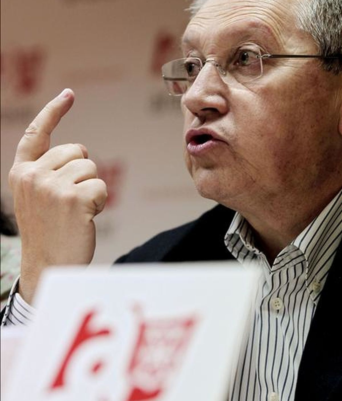 El coordinador de Aralar, Patxi Zabaleta. EFE/Archivo