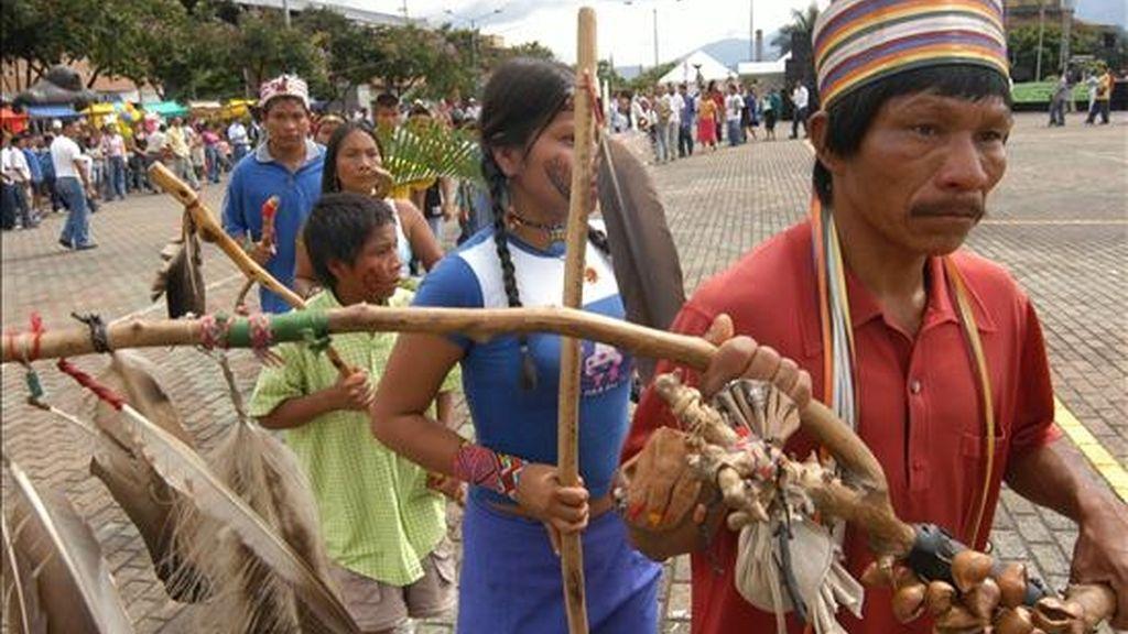 Las delegaciones de los siete países amazónicos estarán integradas por autoridades de alto nivel a cargo de la promoción y aplicación de políticas oficiales en favor de los indígenas y de la protección del ambiente. EFE/Archivo