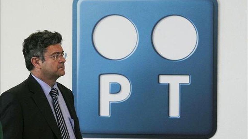 """Portugal Telecom (PT) anunciou que está """"disponível para dialogar"""" com Telefônica depois que esta mostrasse hoje sua disposição a buscar soluções para """"levar a bom fim"""" a aquisição da operadora brasileira de celulares Vivo. EFE/Arquivo"""