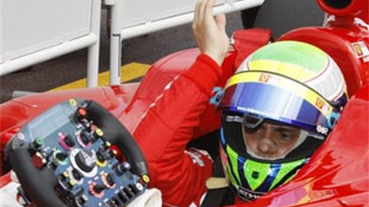 Massa, en el GP de Mónaco. Foto: AP