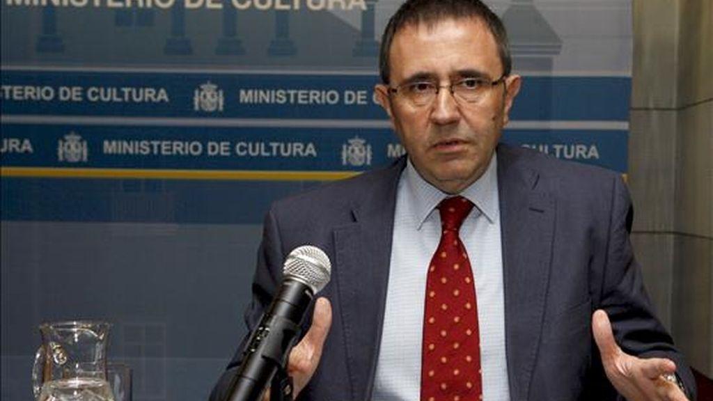 El director general del Instituto Nacional de las Artes Escénicas y de la Música (INAEM), Félix Palomero, quien dio a conocer el fallo. EFE/Archivo