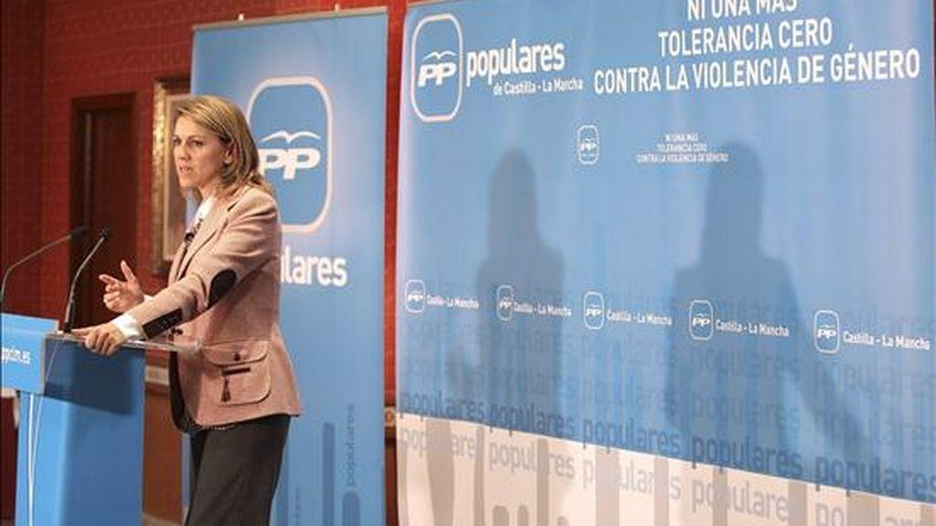 La secretaria General del PP, Maria Dolores de Cospedal. EFE/Archivo