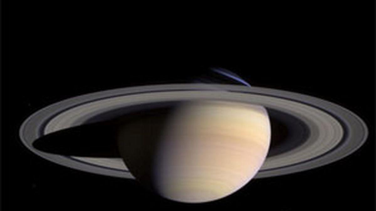El origen de los anillos del planeta aún no ha sido determinado de manera definitiva. Foto: Archivo.