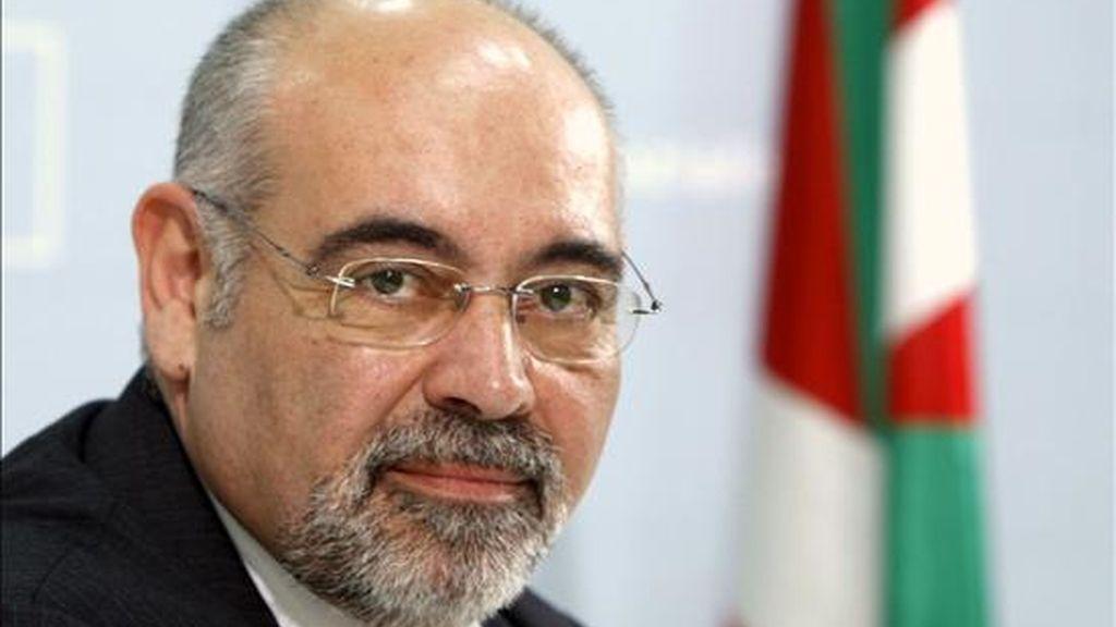 El portavoz parlamentario del PSE-EE, José Antonio Pastor. EFE/Archivo