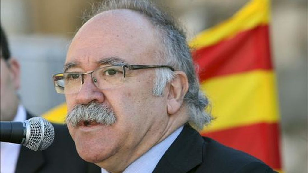 El vicepresidente del Govern, Josep Lluís Carod-Rovira. EFE/Archivo