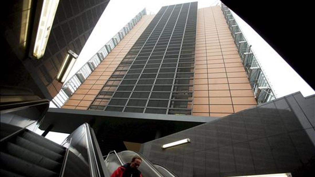 Vista de la sede de la comisión Europea en Bruselas. EFE/Archivo