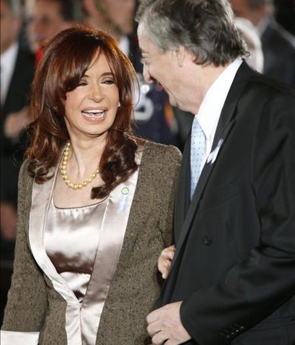El patrimonio neto de los Kirchner mejoró además por un aumento del valor de las empresas Los Sauces y Hotesur, propietarias de sendos hoteles en la villa turística de El Calafate, en la Patagonia argentina, agregó. EFE/Archivo
