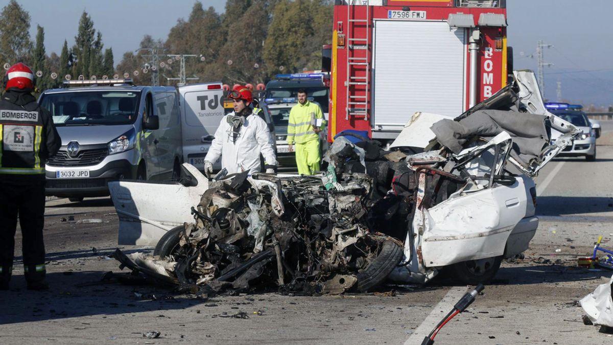 Accidente de tráfico en Palma del Rio