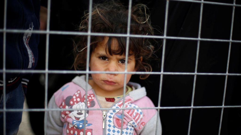 Atrapados en Irak, tras una valla