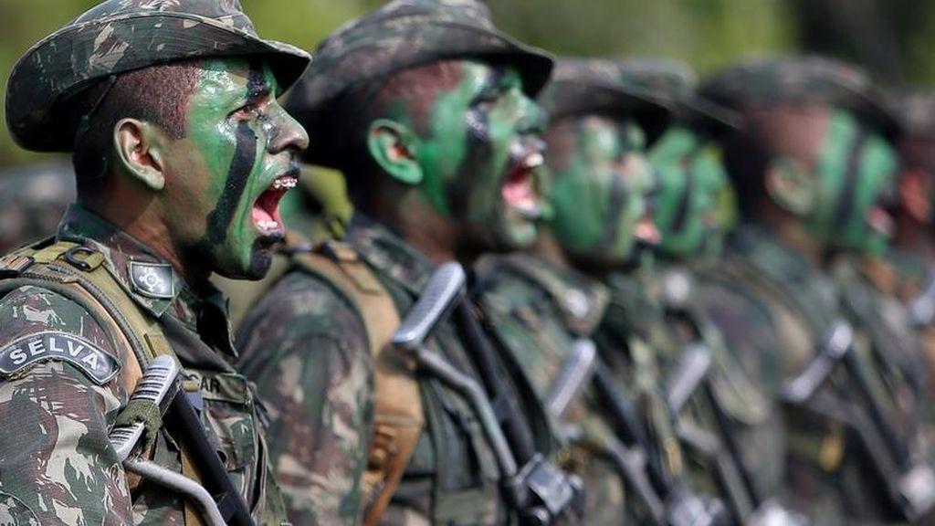Soldados Brasileños