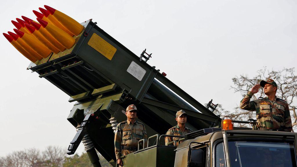 Parada militar en India por el Día de la República