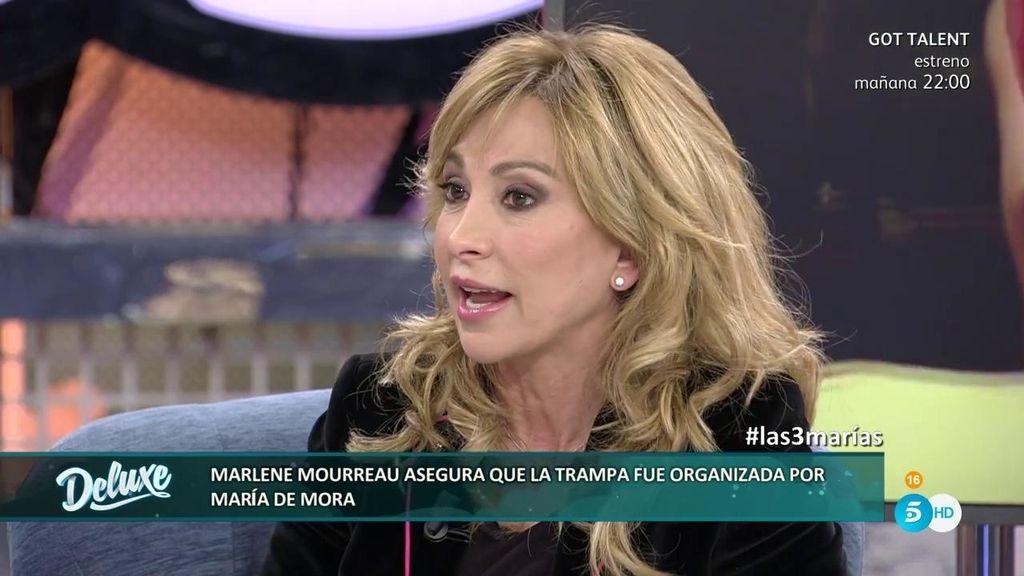 """María de Mora niega lo evidente: """"En mi agencia jamás se ha pagado por sexo"""""""