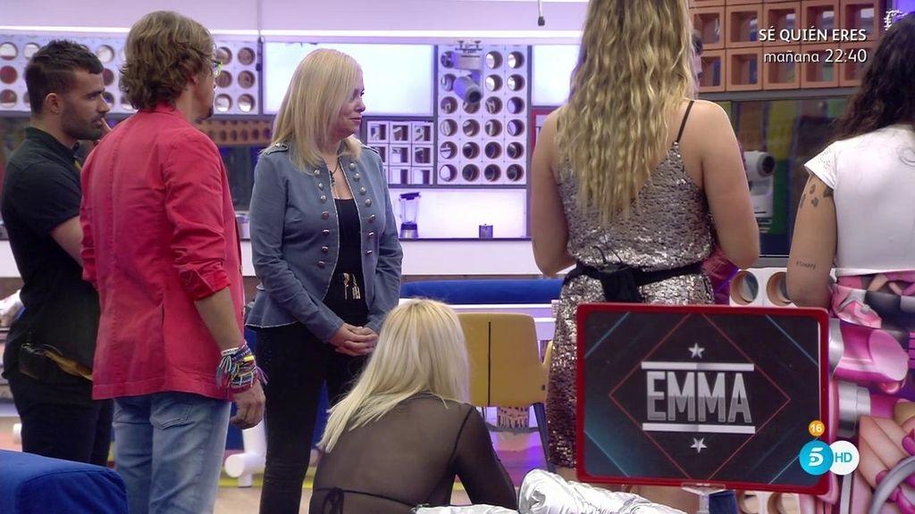 """Caparrós, a Tutto, tras la nominación a Emma: """"Le has salvado por un trabajo"""""""