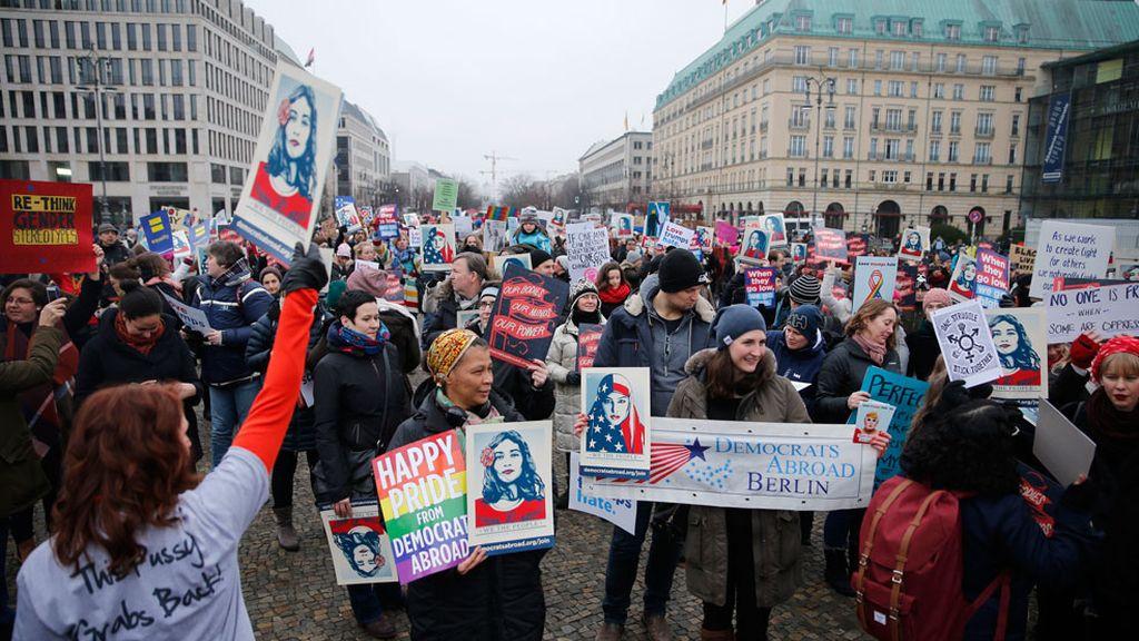 Marcha en Berlín, Alemania