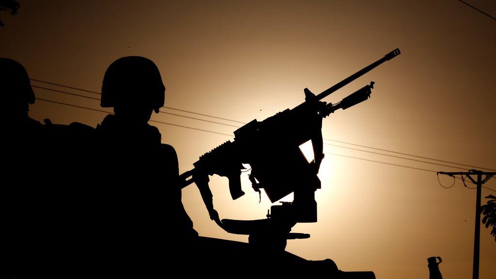 Soldados en África