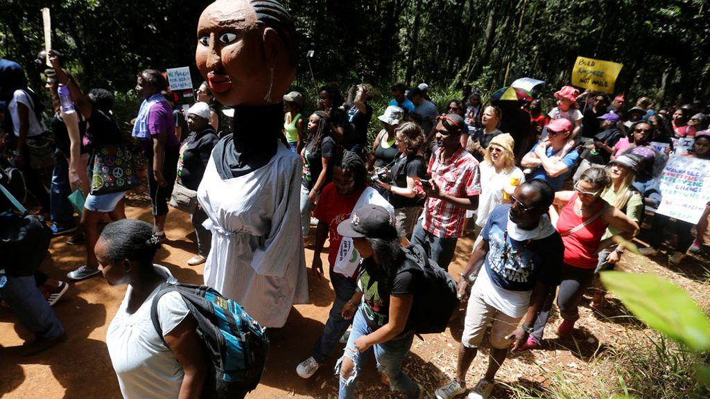 Marcha en Nairobi, Kenia