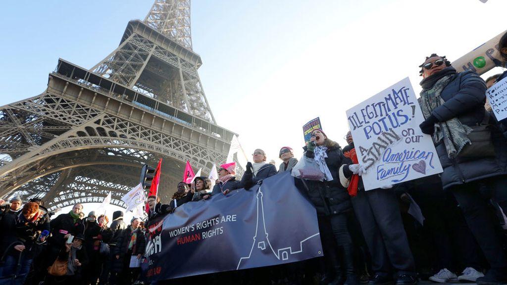 Marcha en París, Francia