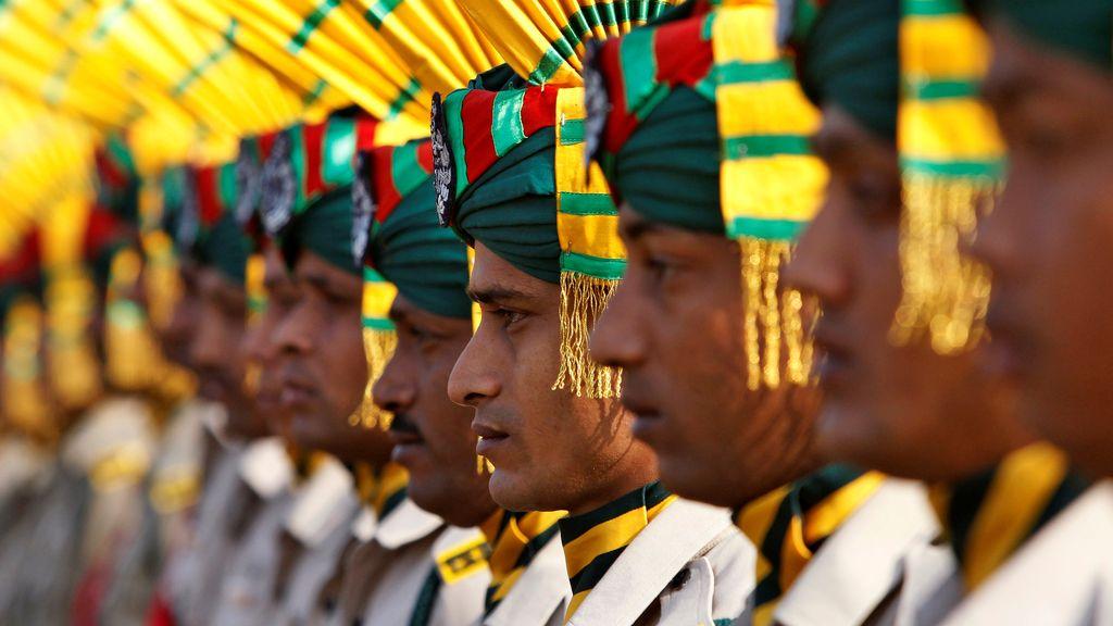 Continúan los preparativos para el Día de la República en la India