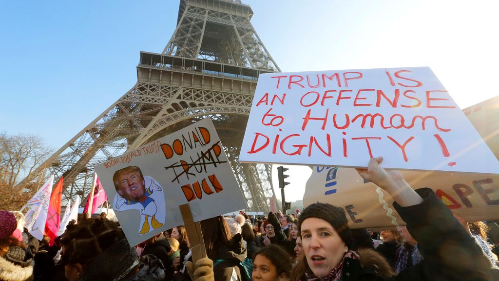 París no quiere a Trump