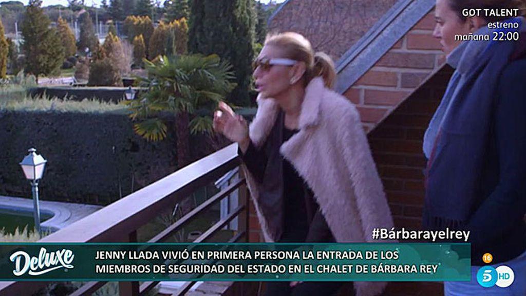 """Jenny: """"Dos miembros de seguridad del Rey asaltaron la casa de Bárbara encapuchados"""""""