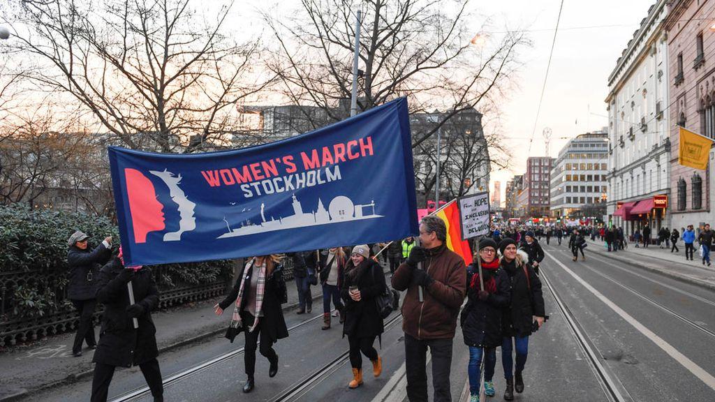 Marcha en Estocolmo, Suecia