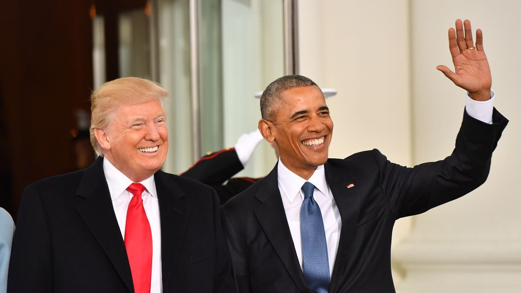 Donald Trump toma la posesión de la presidencia de Estados Unidos