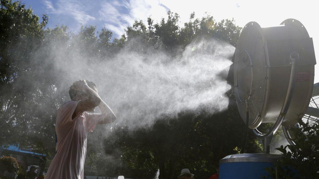 Extremo calor en el Open de Australia