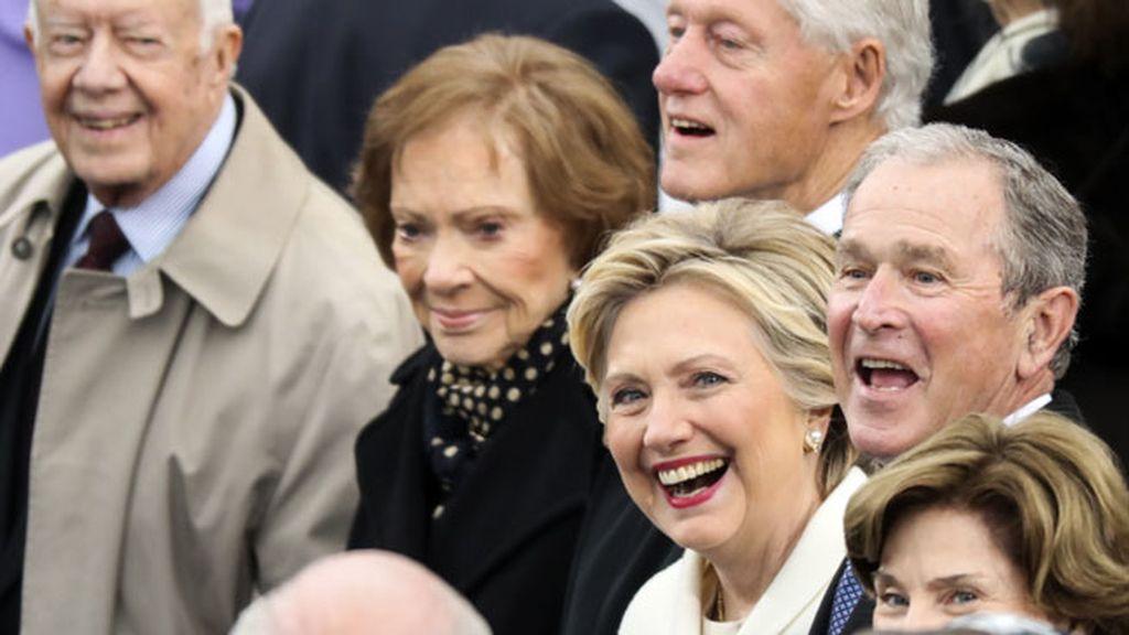 Han estado todos sus hijos y muchos rostros republicanos y demócratas