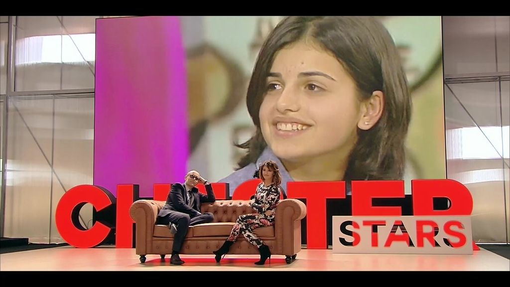 Mónica apareció en televisión con sólo 15 años y ya tuvo que hacer frente a rumores