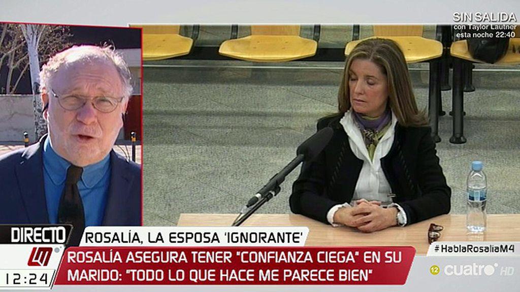 """Ekaizer, de Rosalía: """"Creo que es el intento de ser la Infanta del Caso Gürtel-Bárcenas"""""""