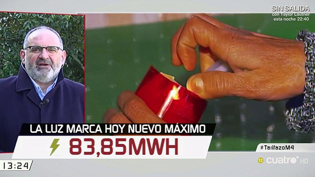 """Antón Losada, sobre la luz: """"Menos investigación y más sanciones"""""""