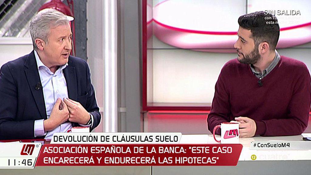 """Emilio del Río, a César Zafra: """"C's siempre está dando patadas en la espinilla"""""""