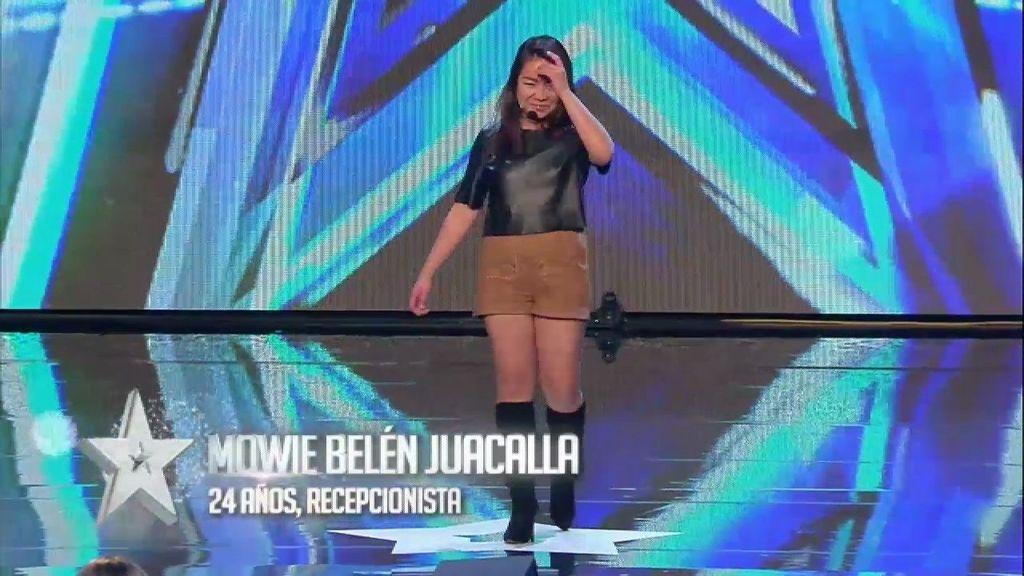 ¡Mowie protagoniza la actuación más corta de la historia de 'Got Talent'!