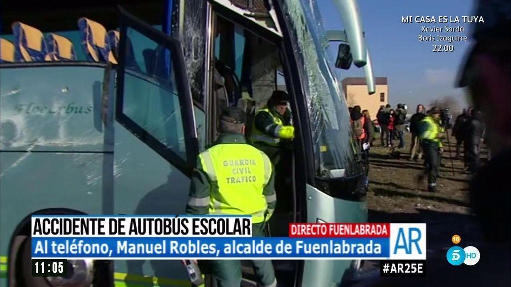 """Alcalde de Fuenlabrada: """"Todos son casos leves"""""""