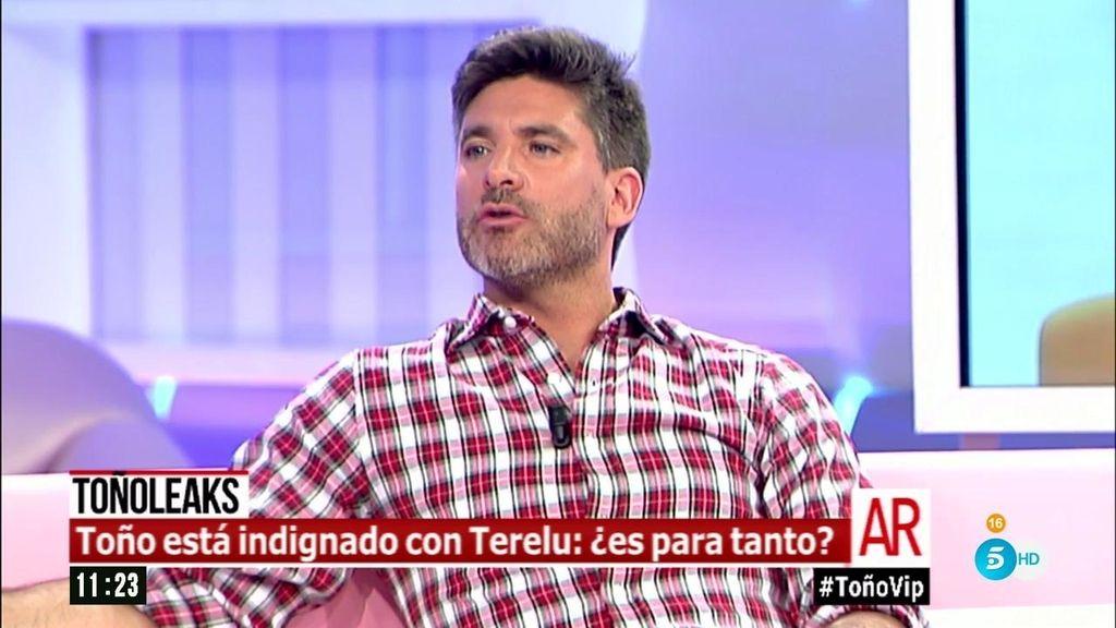 """Toño Sanchís: """"Terelu puede estar tranquila porque no voy a contar nada de ella"""""""